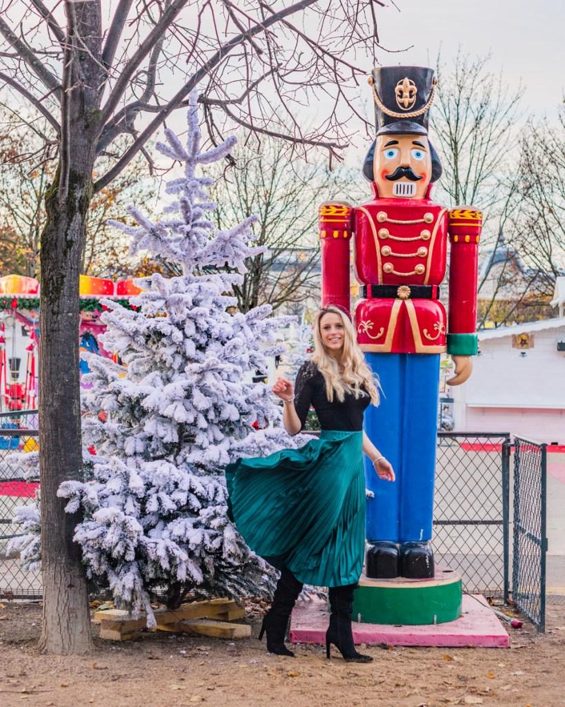 Christmas market in the Tuileries Garden - Christmas in Paris