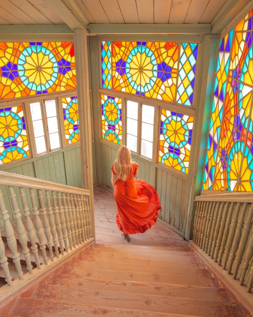 The Kaleidoscope House in Tbilisi - Georgia
