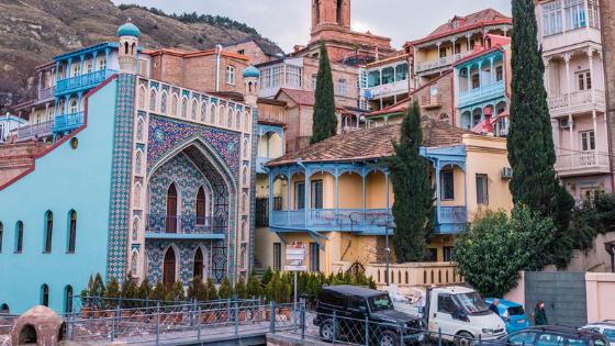 Old Town of Tbilisi - Abanotubani and Orbeliani Baths