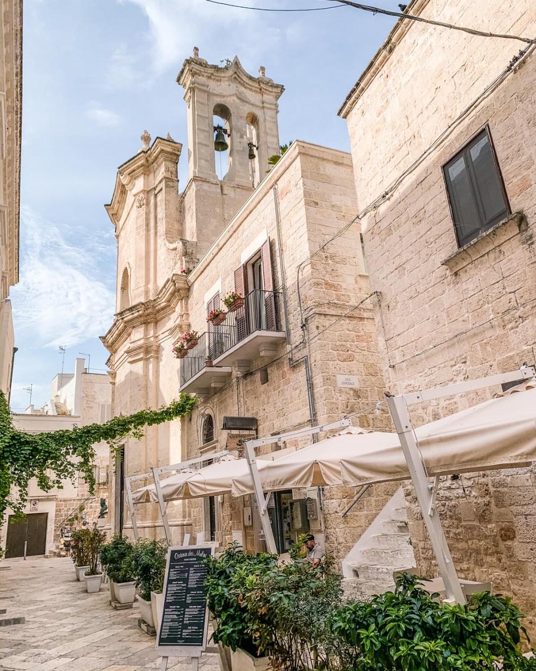 Old Town of Polignano a Mare in Puglia