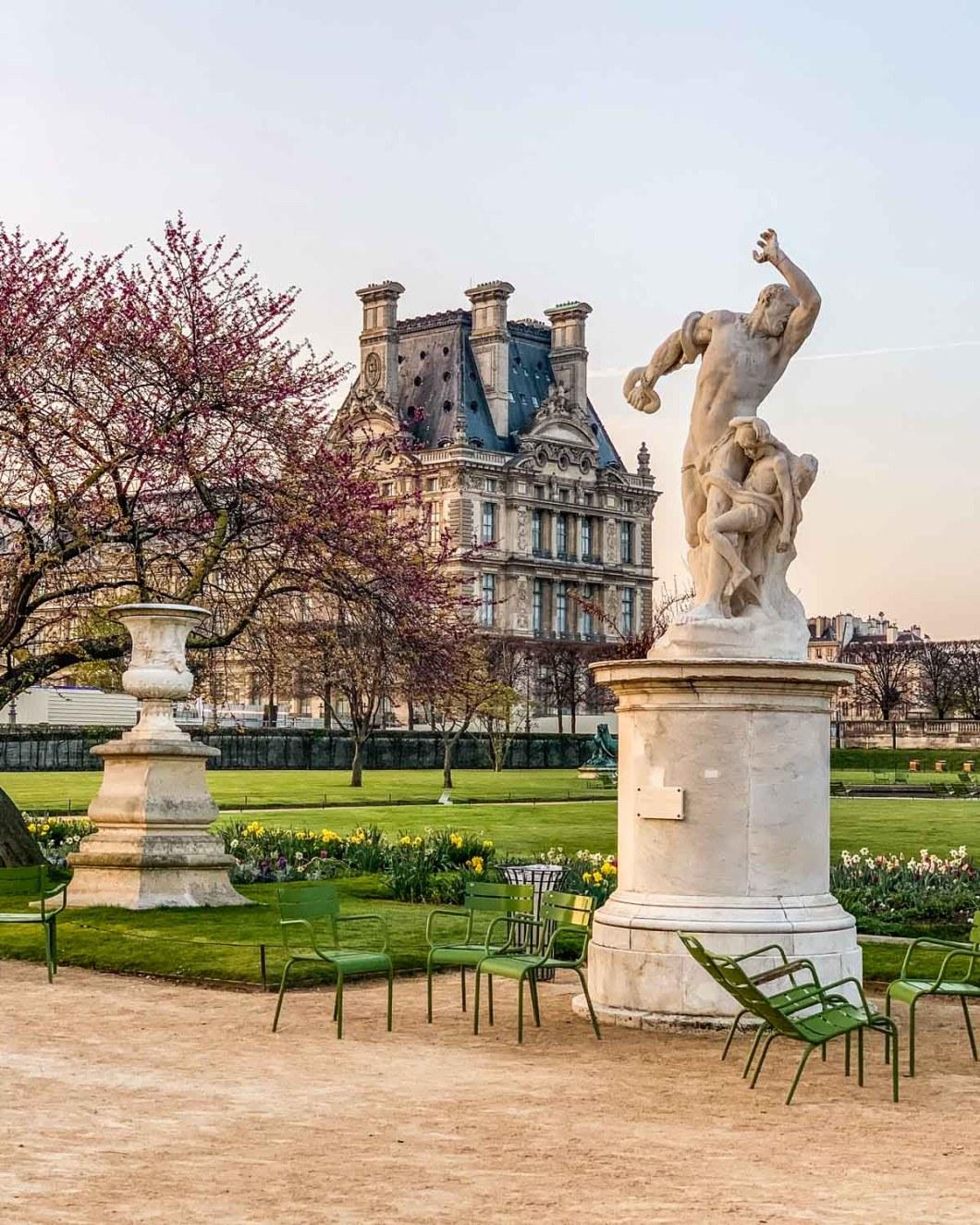 Jardin des Tuileries in Paris