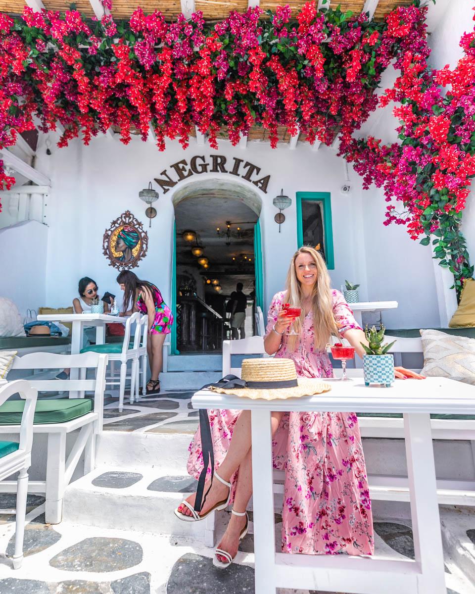 Bar Negrita in Mykonos