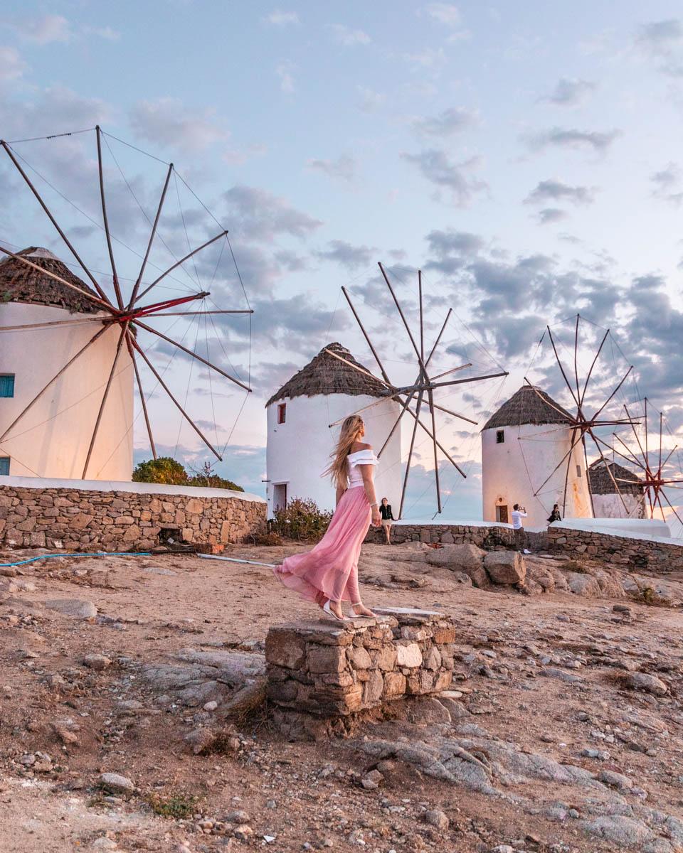 Kato Mili - Windmills in Mykonos
