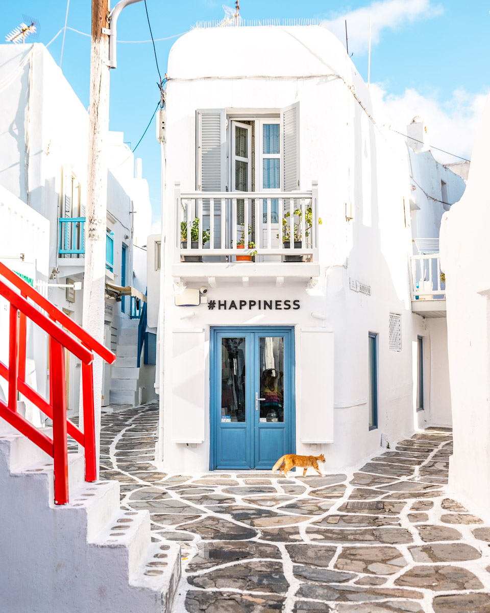 Happiness House in Mykonos