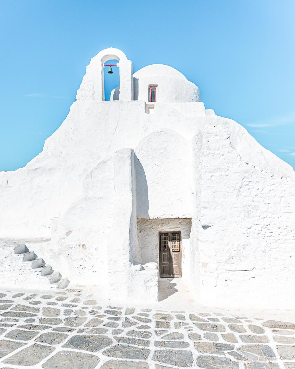 Paraportiani Orthodox Church in Mykonos