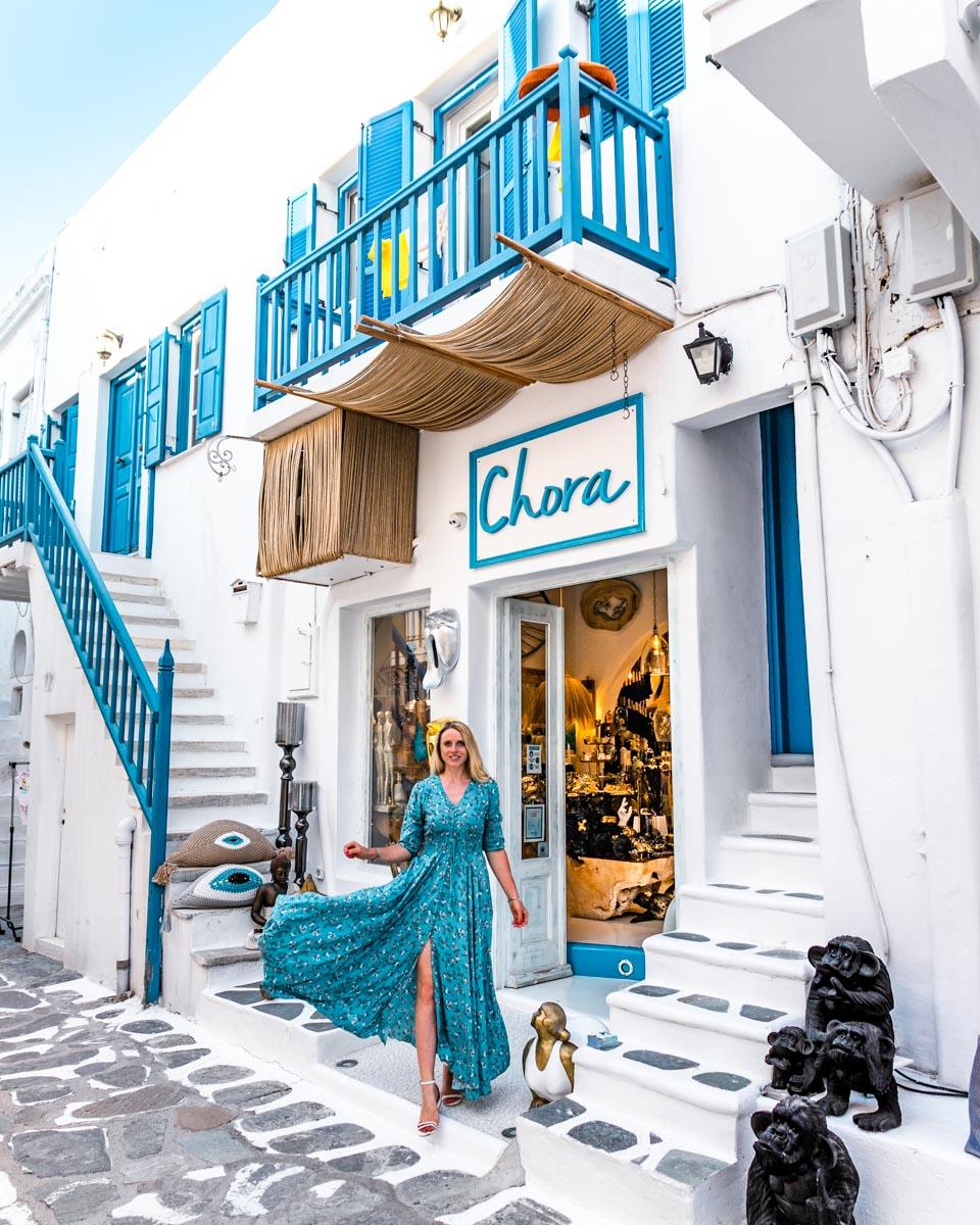 Chora Shop in Mykonos