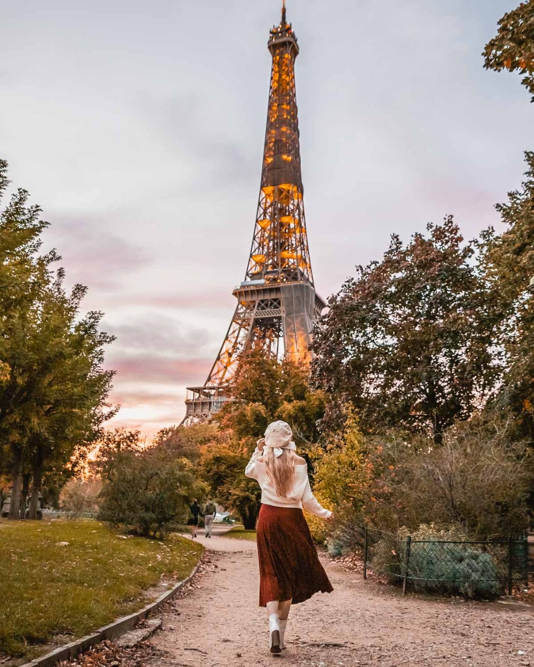 Champ de Mars with the Eiffel Tower