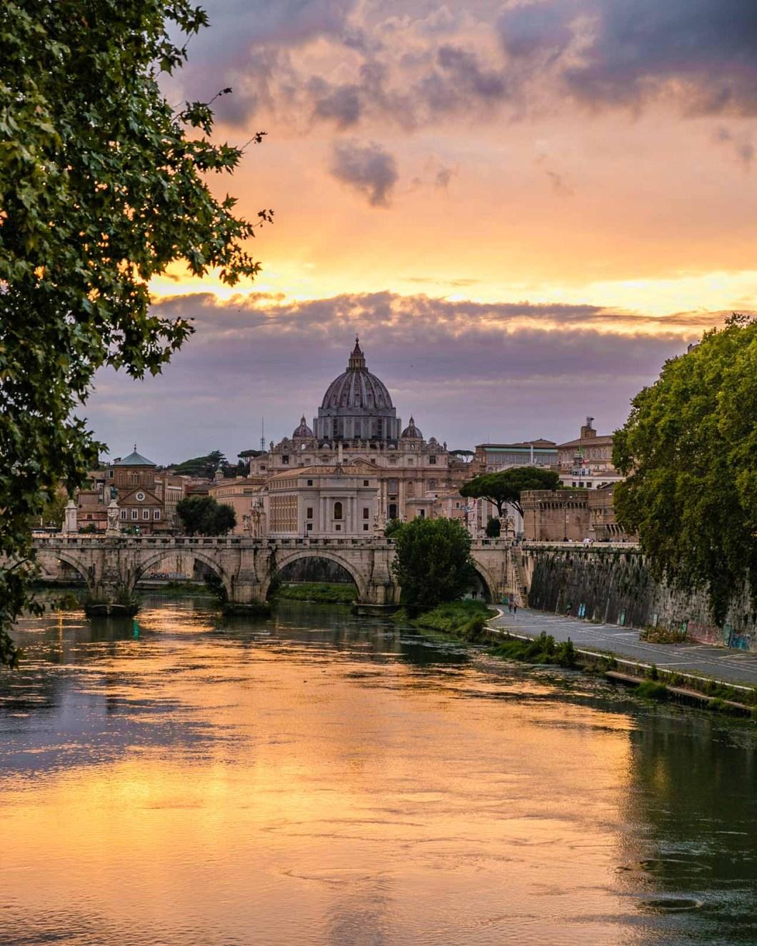 Ponte Umberto I in Rome
