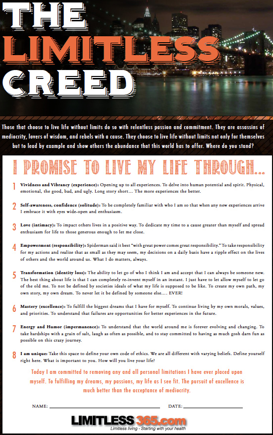 limitless365-creed
