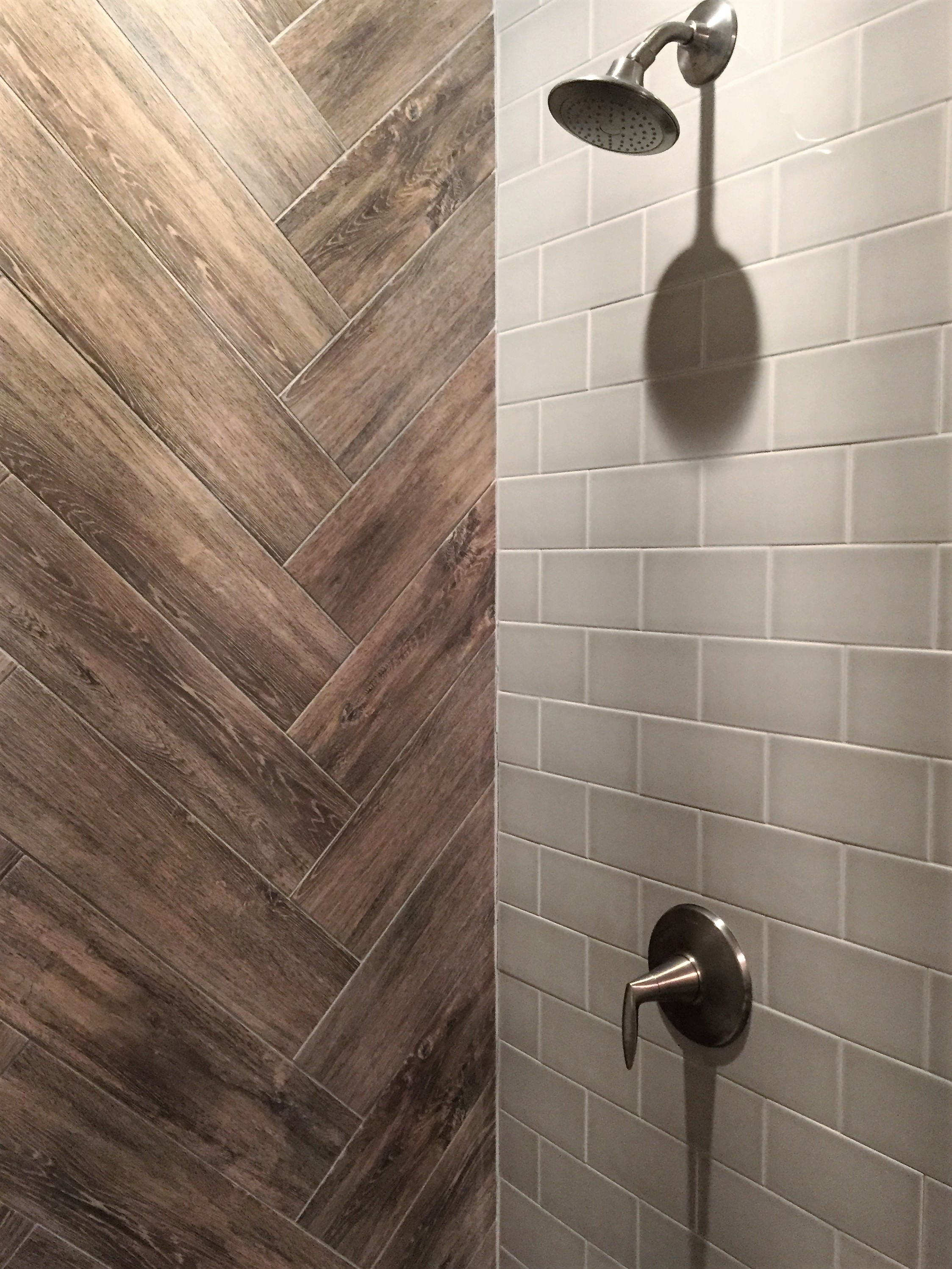 Distinctive Shower Tile