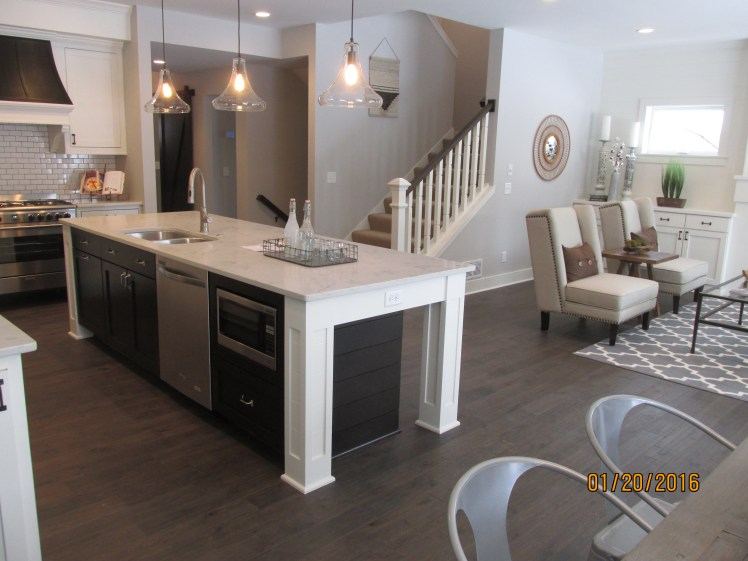 Hard-working Kitchen Island