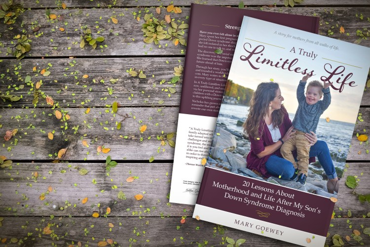 A photo of the book laying on a wooden table, along with a link to make a purchase of the book which is available now on Amazon!