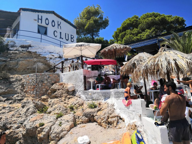 hook club 800x600 - THE BEST AGISTRI BEACHES
