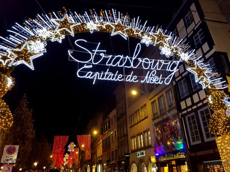 Strasbourg Christmas decoration