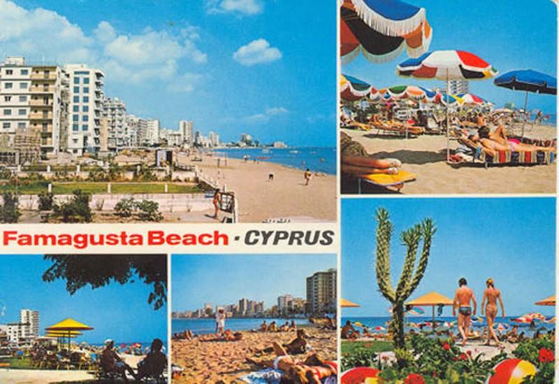 Famagusta beach Cyprus