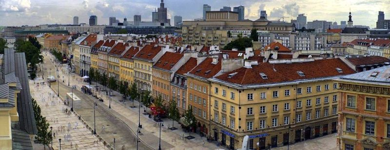Krakow Suburbs Avenue 1296x500 800x309 - THE ULTIMATE GUIDE TO TRAVEL TO POLAND ON A BUDGET; PART 2 - WARSAW ON A BUDGET