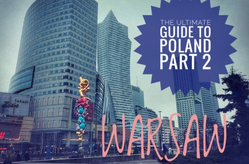 modern city 01 - THE ULTIMATE GUIDE TO TRAVEL TO POLAND ON A BUDGET; PART 2 - WARSAW ON A BUDGET