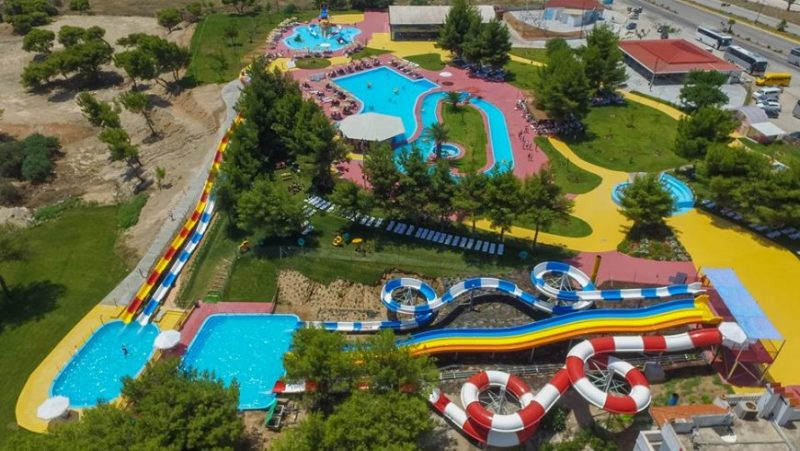 waterpark 800x451 - LOUTRAKI GREECE - A SEASIDE RESORT WITH THERMAL SPRINGS