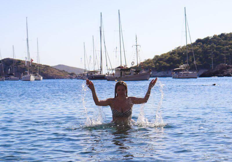 St. Nikolaos Beach, Hydra island