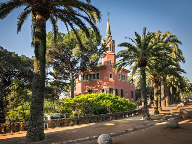 Casa Museu Gaud  - TOP 13 Gaudi Buildings in Barcelona