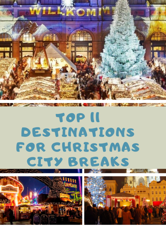 Pink Green Spring Flower Quotes Pinterest Graphic 2 - TOP 11 European Destinations for Christmas City Breaks