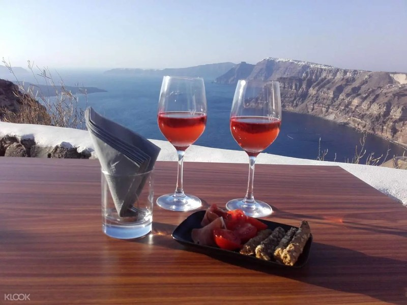 SantoriniWineTastingSunsetTour - How to Spend the Best Vacations in Santorini