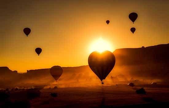 dubai hot air balloon ride min - Best Morning Desert Safari in Dubai
