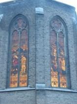 glas in lood Kerk St Jan Limmel