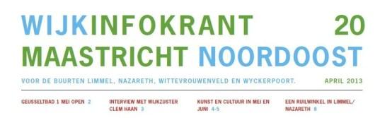 Wijkinfokrantapril2013
