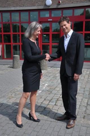 Foto Hyacinthe van Bussel en Ton van Duijnhoven