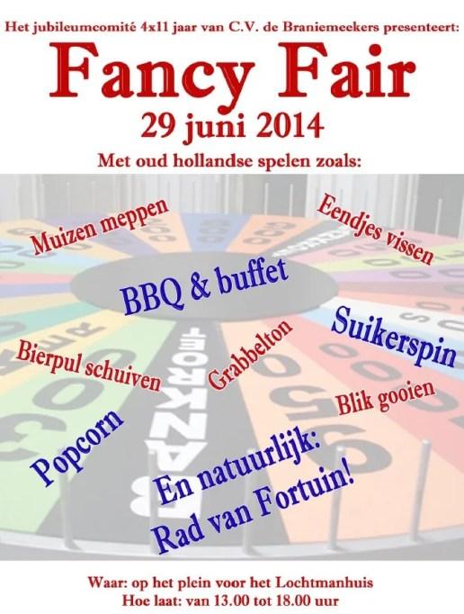 Poster Fancy Fair 2014