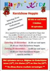 Affiche Kerstshow 2015