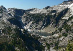 Upper Thornton Lake Cirque, N Cascades Natl Park USA