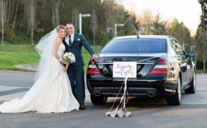 Image of Wedding Mercedes S550