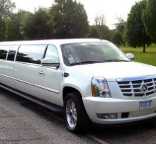 Photo of cadillac escalade 20 passenger stretch