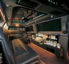 CT stretch limousine interior 9 passenger image