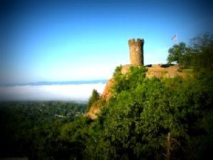 Image of cliff in Meriden