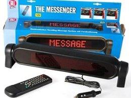"""12V LED-skylt """"LimoMessenger"""""""