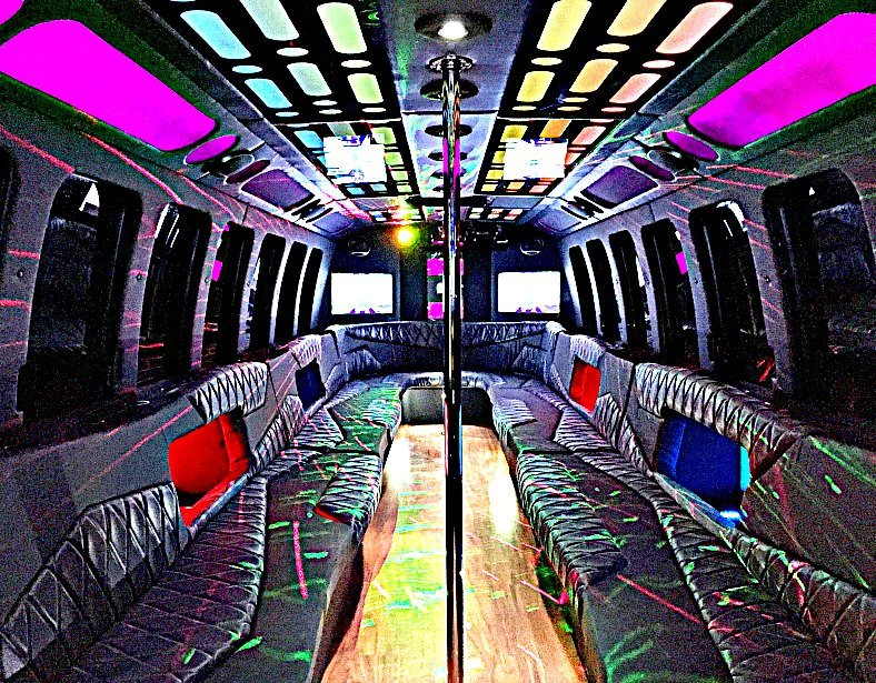30 Passenger Party Bus Near Me