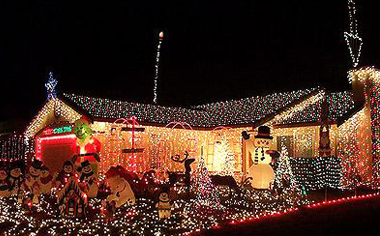 Holiday Christmas Lights Limo Tour Dallas Fort Worth DFW