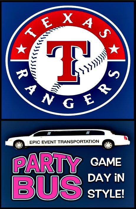 Texas Rangers Game Transportation