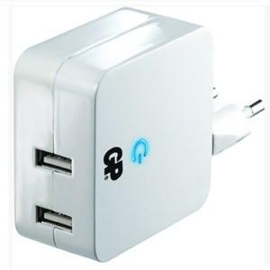 מטען קיר USB כפול 4200mA