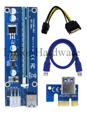 PCI Extender Riser Card Ver006c Set