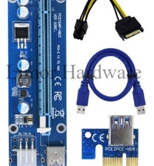 PCI Extender Riser Card Ver006c Set