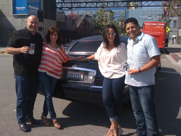 June 11, 2012 Dodgers Game at Staples Center Los Angeles Limousine Service