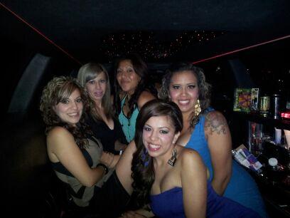 San Bernardino Limousine for Bachelorette Party in Hollywood