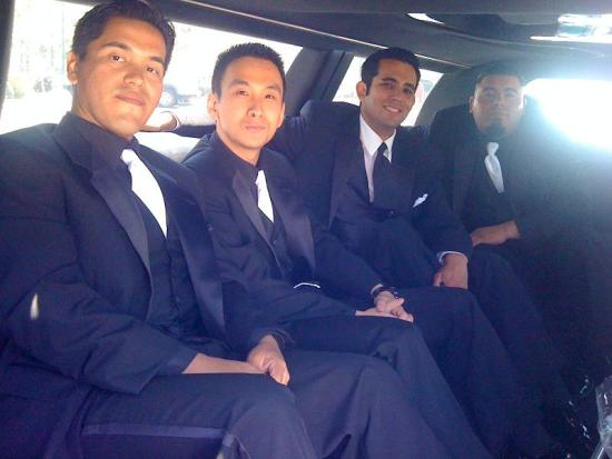 Groomsmen San Dimas Limousine in Los Angeles County, CA