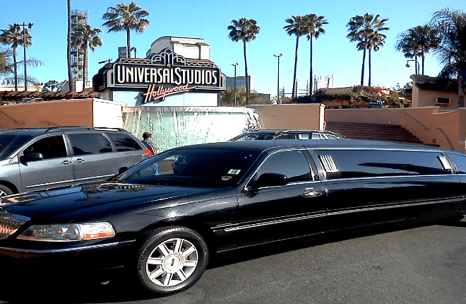 Black Stretch Limousine