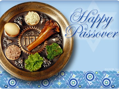 Shalom and Happy Passover Orange County