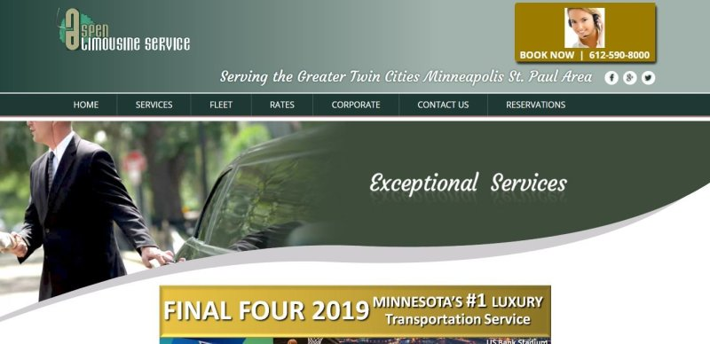 Aspen Limo and Car Services – Minneapolis